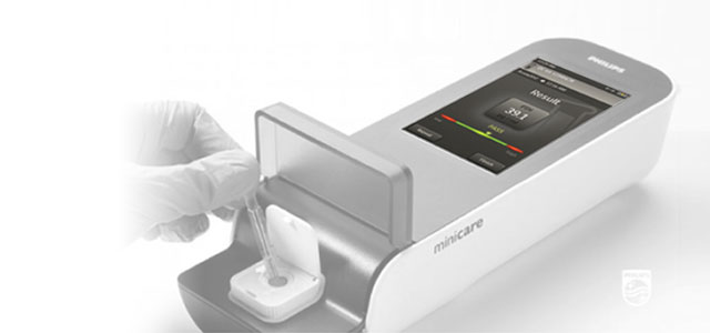 portable blood analyser