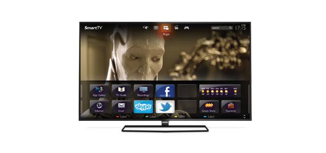 interface design on a TV set